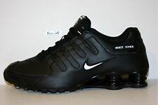 new product e41c6 79557 Nike Shox NZ EU Men's Leather M Running Black - White Authentic Size 13