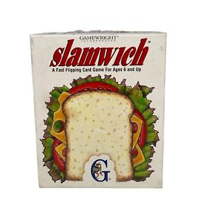 Slamwich Fast Flipping Card Game family game night, birthday gift, camping game
