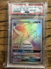 2017 Pokemon Sun & Moon Charizard GX 150/147 PSA 7 NM WOW!