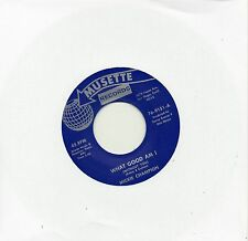 MICKIE CHAMPION  WHAT GOOD AM I (WITHOUT YOU)   MUSETTE Re-Issue  NORTHERN SOUL