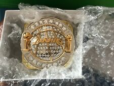 LOS ANGELES LAKERS 2010 CHAMPIONSHIP RING PAPERWEIGHT NEW