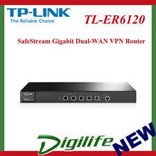 TP-Link TL-ER6120 SafeStream Gigabit Dual-WAN VPN Router 2xGbE WAN 2xGbE LAN