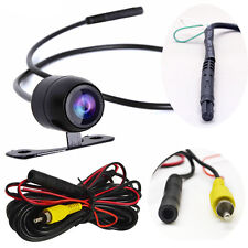 2in1 Car Rear Back View CCD 170°Backup Side Front Parking Camera 4 Pin Connector