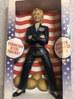 Hillary Clinton Nutcracker Democrat Campaign Stainless Steel Thighs NEW IN BOX!