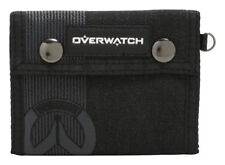 Overwatch Trifold Wallet W/ Snaps Licensed NEW