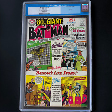 80 PAGE GIANT #5 💥 CGC 9.2 ONLY 3 HIGHER! 💥 25TH ANNIVERSARY OF BATMAN & ROBIN