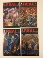 Complete Set Real Heroes #1 2 3 4 Image Comics (2014) VF/NM