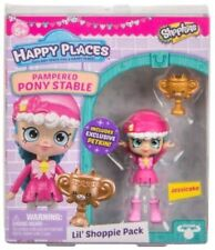 SHOPKINS HAPPY PLACES JESSICAKE LIL' SHOPPIE PACK PAMPERED PONY STABLE NEW
