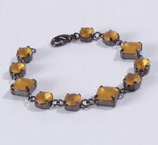 Modeschmuck-Armbänder aus Acryl und Metall-Legierung für Damen