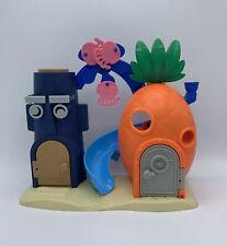 2013 Mattel Imaginext Spongebob Squidward House Playset Viacom International Inc