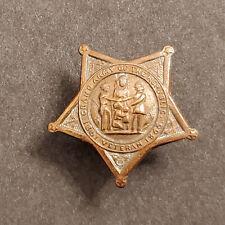 New listing Antique Civil War Veteran Gar Star Lapel Pin / Button