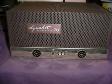 Classic Dynaco ST-70 ST70 Stereo EL34/6CA7 Tube Amplifier with Original Cage #B