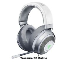 Razer Kraken 7.1 V2 Mercury White Oval Digital Gaming USB Headset RZ04-02060300