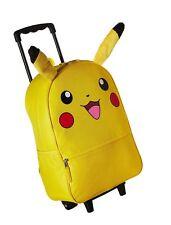 Pokemon Pikachu 3D Back to School Rolling Backpack