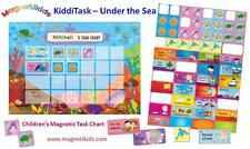 Magnetikids Kiddi Task - Childrens Magnetic Task Chart (Under the Sea)