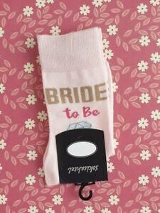 Womens Bride To Be Socks - Wedding Gift Novelty socks