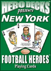 NEW! New York Jets Football Heros Original Hero Deck Playing Cards Fan Gift