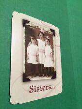 Leanin' Tree Sister Appreciation Card - Looking After Us Theme - Inventory #1337