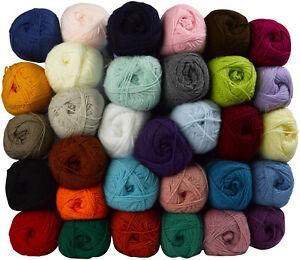 Top Value Double Knitting Wool & Free Knitting Pattern James Brett Acrylic Yarn