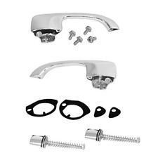 1968 69 Chevelle Outside Door Handle Kit w/ Push Buttons Gasket Screws - M1391WB