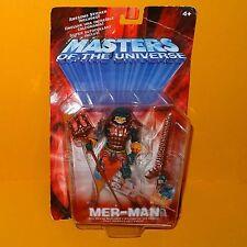 2001 Moderno Serie Motu De He-man Amos Del Universo, Mer-man Figura Moc cardar
