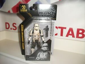 """star wars black series 6"""" IMPERIAL HOVERTANK DRIVER ROGUE ONE 50th lucasfilm"""