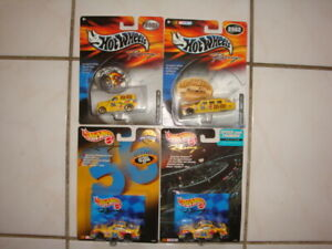 (4) Hot Wheels Racing{ #36 M&M NASCAR's } Speed & Thunder/Pro Racing Series !!!