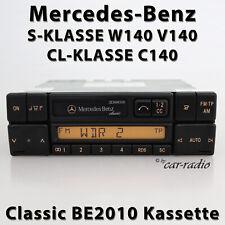 Original Mercedes Classic BE2010 Cassette W140 Autoradio CLASSE S Classe CL C140
