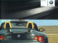 BMW Z4 ROADSTER COUPE INDIVIDUAL Zubehör Ausstattungen Prospekt 2005 63