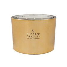 Shearer Candles - Oud SIGNATURE COUTURE TRIPLE wick bougie en métallique or