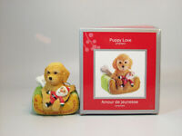 Carlton Heirloom Series Ornament 2012 Puppy Love #17 - Labordoodle - CXOR037B-DB
