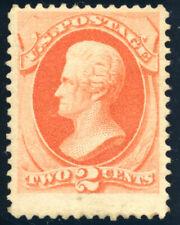 US 183 2¢ 1879 Andrew Jackson soft paper F-VF Unused Regummed