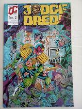 Judge Dredd (Quality) Vol 2 #21 - Comic – used Excellent condition