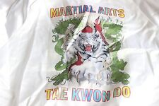 Vintage West Ark Members Jacket TAE KWON DO Martial Arts XS