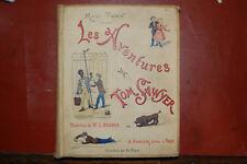 Les aventures de Tom Sawyer Mark Twain, 1884, illus. Sirouy, Trad. Hugues, EO Fr