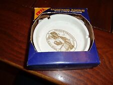 VINTAGE 90s VILLAGE OF TOBACCOVILLE THE PLACE DORAL CALLS HOME STONEWARE ASHTRAY