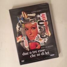 DUE O TRE COSE CHE SO DI LEI RARO DVD SIGILLATO - JEAN-LUC GODARD MARINA VLADY