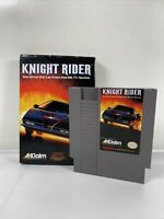 Knight Rider (Nintendo Entertainment System, 1989) With Original Box