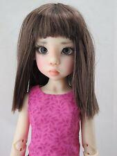Monique YURI Wig Brown Size 7-8 MSD Dollfie shown on Kaye Wiggs Nyssa