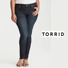NEW Women's Plus Size Torrid Blue Gray Denim Jegging Pant Size 24R