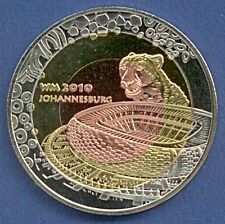 Medaille WM 2010 Südafrika South Africa Johannesburg Tricolor Ø 40 mm B92/06