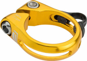 Promax DP-1 Dropper Seat Post Clamp 34.9mm Gold