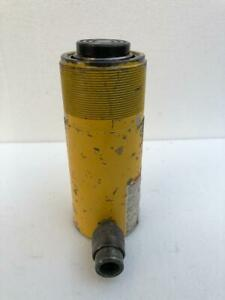 "ENERPAC RC 254 HYDRAULIC CYLINDER 25 TONS CAPACITY 4"" STROKE 700 BAR #4"
