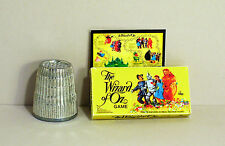 Dollhouse Miniature 1:12 Wizard of Oz Game 1970s  Dollhouse board game toy
