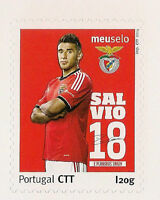 PORTUGAL EUROPE STAMPS TIMBRES SPORT BENFICA SALVIO FOOTBALL SELLOS 2014 NEUF