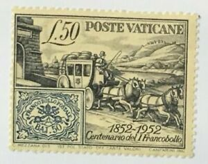 VATICAN - 1952 Papal States Stamp Centenary Scott #155 - VF MNH