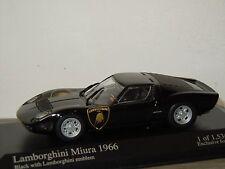 Lamborghini Miura 1966 - Minichamps 1:43 in Box *30680