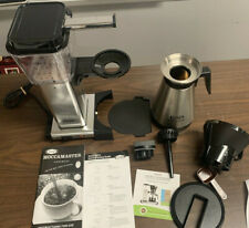 Moccamaster 79112 10 Cup Thermal Coffee Maker - Silver