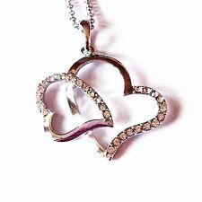 Swarovski Love Hearts Alloy Costume Necklaces & Pendants