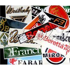 15+ FIREARM SHOTGUN RIFFLE GUN Clearance & Second Quality Vinyl Stickers Decals